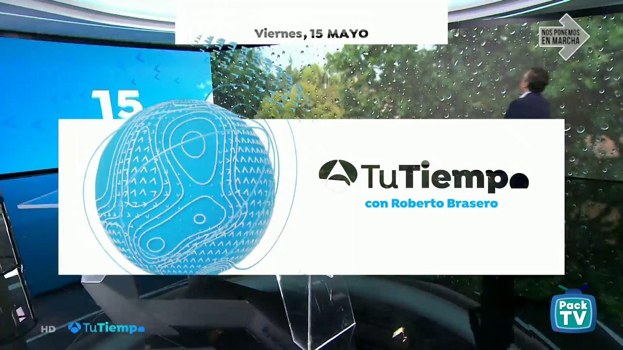 Cabecera Tu Tiempo Con Roberto Brasero Antena 3 2018 Youtube
