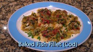 Italian Grandma Makes Baked Fish Fillet (Cod)