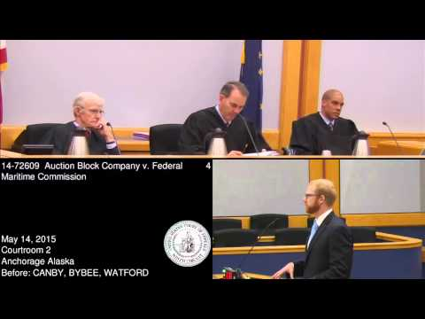 14-72609 Auction Block Company v. Federal Maritime Commission