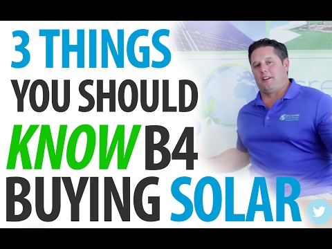 What Do I Need to Know Before Buying Solar Panels? 3 Critical Things! (I.C.E. Chats)