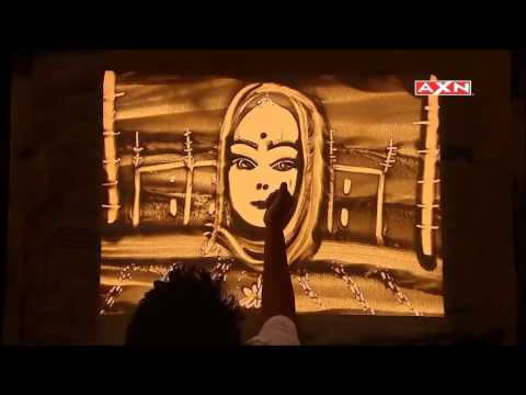 "Asia Got Talent lady judge impressed by Indian Sand Artist Nitish Bharti & said ""yes for india"""