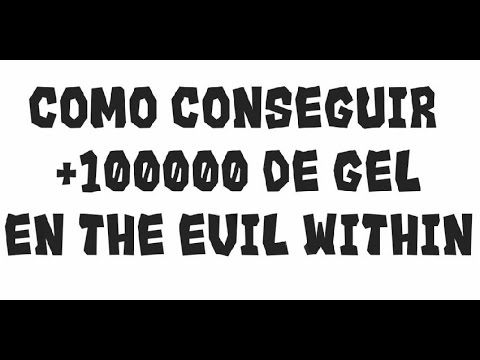 The Evil Within - Truco: Como conseguir +100000 de Gel