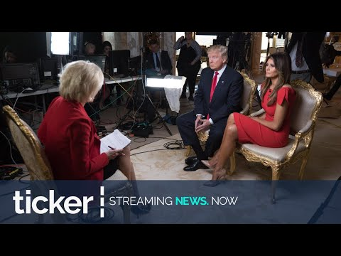 DONALD TRUMP REVEALS WHY HE ENDED 60 MINUTES INTERVIEW, SAYS HE WILL RELEASE VIDEO  | ticker