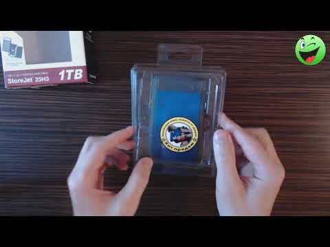 Жесткий диск Transcend StoreJet 25H3P 1TB TS1TSJ25H3B 2.5 USB 3.0 External