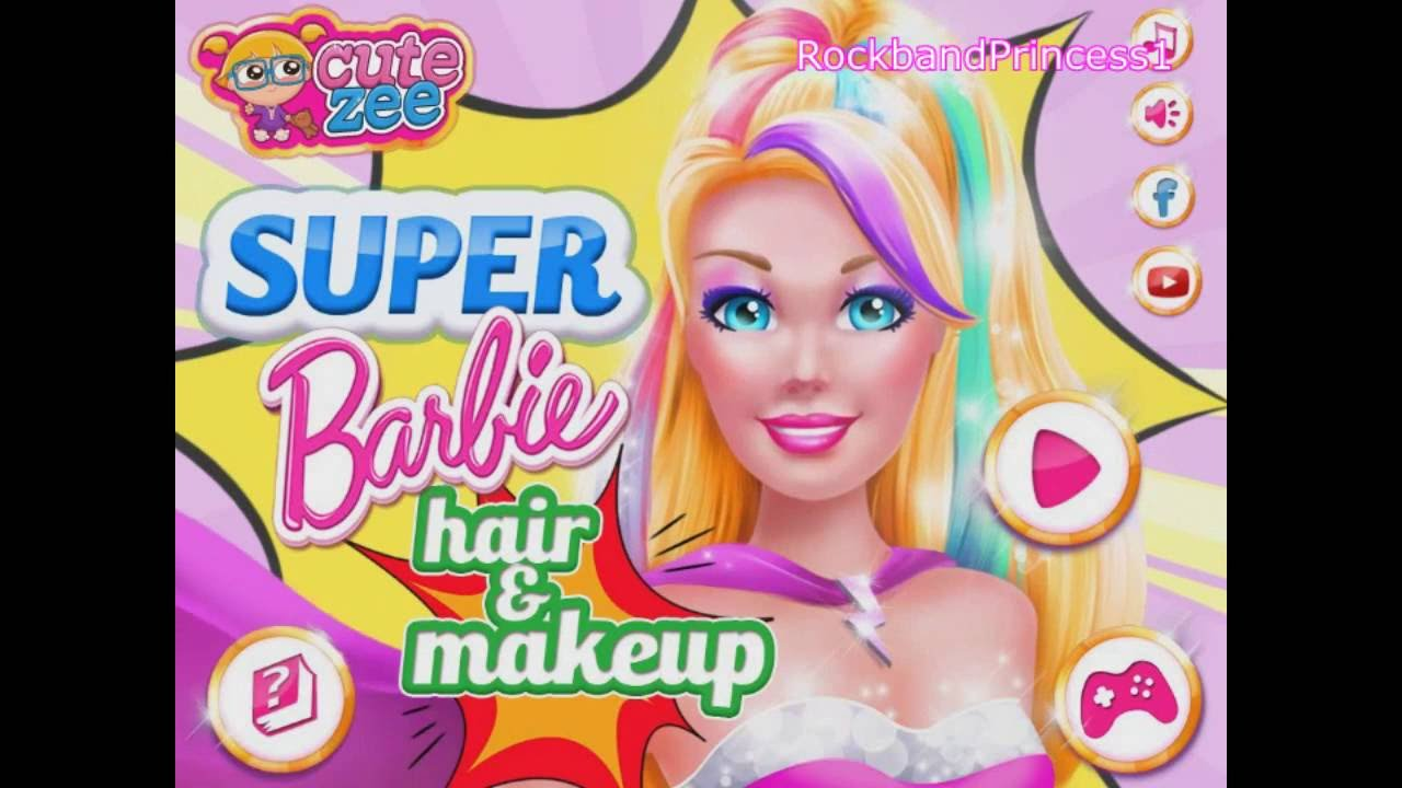 hair styling games barbie hairstyle 3602 | maxresdefault
