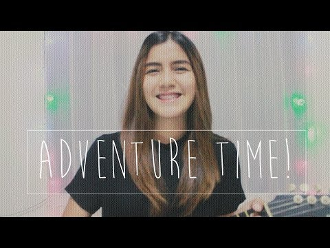 Adventure Time Theme Song (Ukulele Cover) | LIZ TADLE