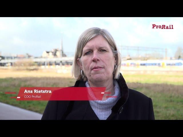 Week van de circulaire economie - Ans Rietstra over experimenteren met tweedehands wissels | ProRail
