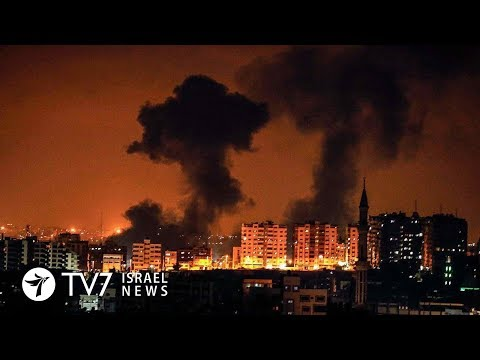 Palestinian Islamists fire more than 200 rockets toward Israel - TV7 Israel News 09.08.18