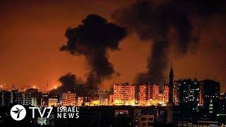 Palestinian Islamists fire more than 200 rockets toward Israel - TV7 Israel News 09.08.18