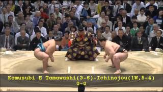 Sumo -Haru Basho 2015  Day 10 ,March 17th -大相撲春場所 2015年 10日