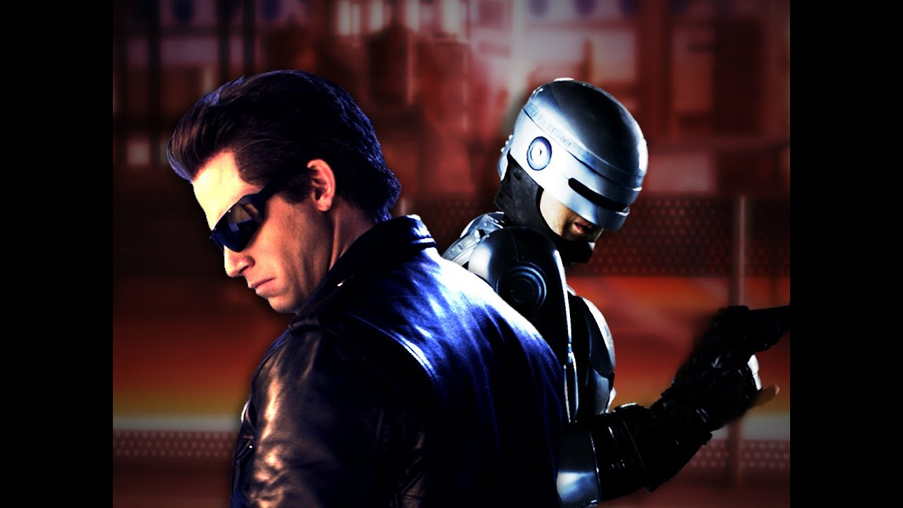 Terminator vs Robocop. Epic Rap Battles of History Season