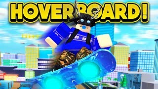 GETTING THE LEVEL 100 HOVERBOARD! (ROBLOX Mad City)