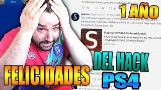 PS4 JAILBREAK 1 AÑO AHORA QUÉ HACEMOS-FELICIDADES PS4 HACK-9BRITO9