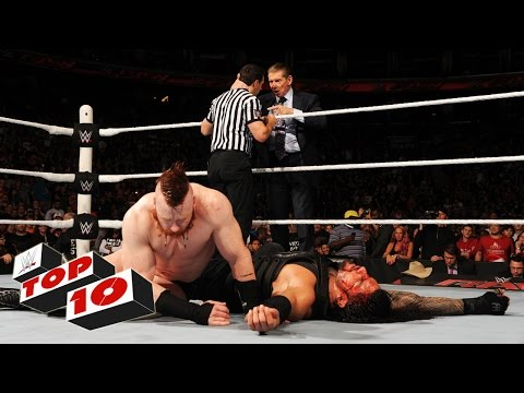Top 10 Raw Moments: WWE Top 10, December 14, 2015