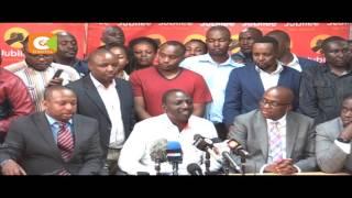 Polycarp Igathe azinduliwa rasmi kama mgombea mwenza wa Sonko