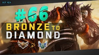 Challenger Visits Gold | HOW TO ULTRA FAST WIN EVERYTIME | Tryndamere Top | Bronze to Diamond Ep #66