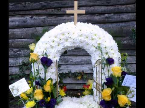 Floral Funeral Sculptures\Tributes 4 Country Garden The Flor