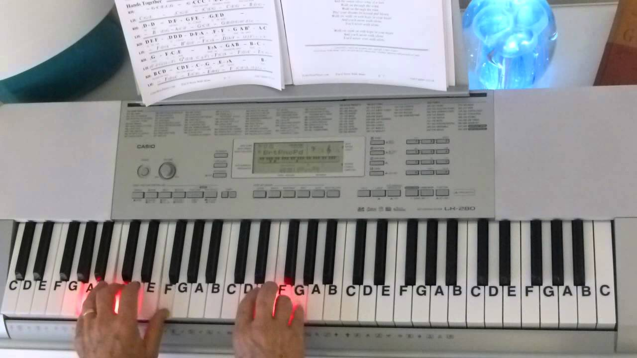 How To Play Youll Never Walk Alone Carousel Letternoteplayer