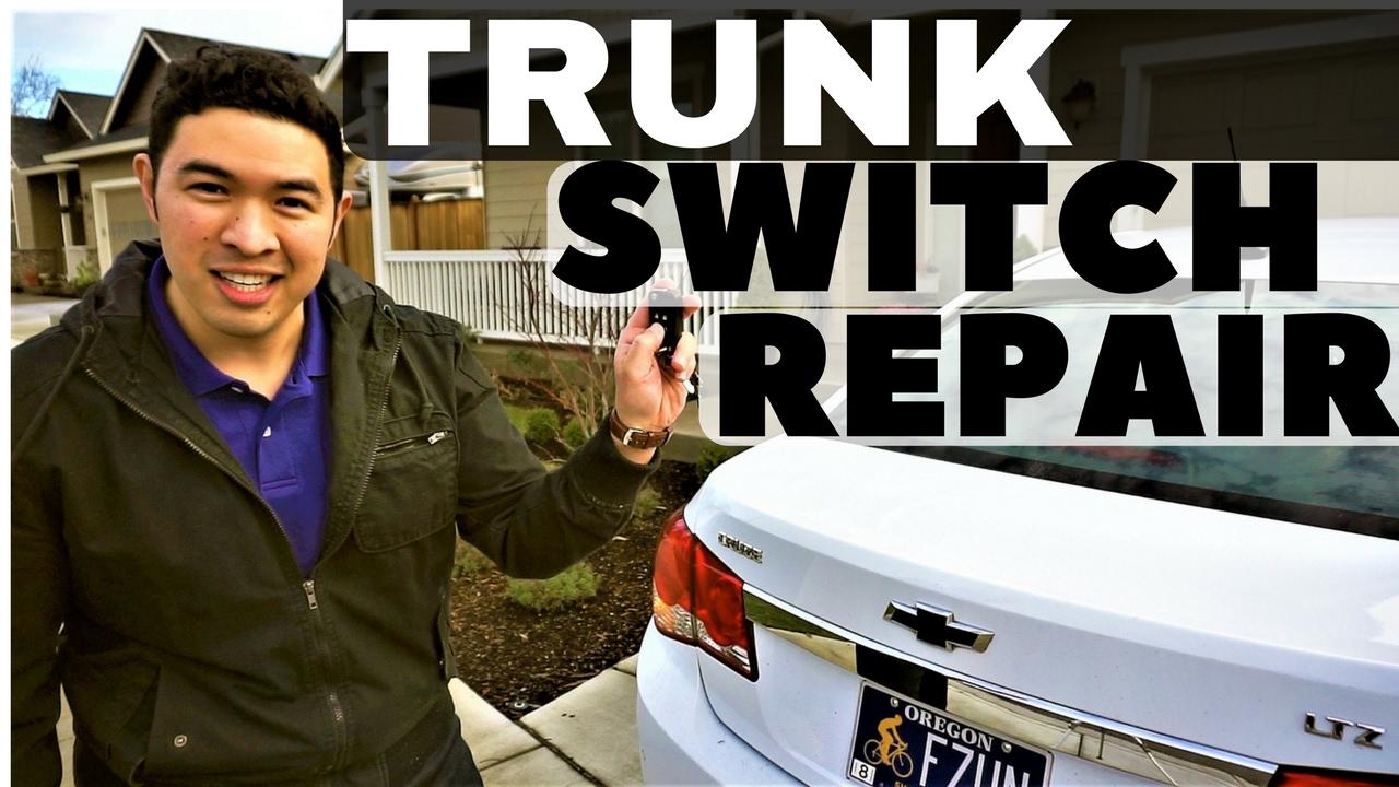 small resolution of chevy cruze trunk switch repair tool list walkthrough instructions car maintenance guru youtube