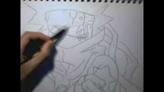 how to draw white star(soul eater)