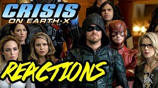 CRISIS ON EARTH-X PART 3 REACTIONS!!