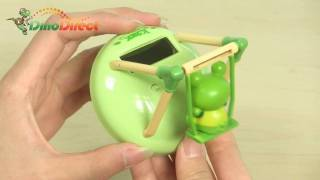 Swing Frog Shaped Solar Powered Shaking and Nodding Toy - dinodirect