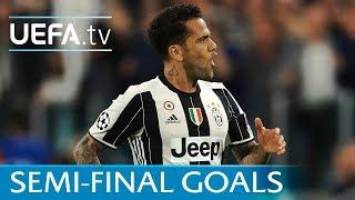 Ten great Champions League semi-final goals featuring Messi, Robben, Raúl