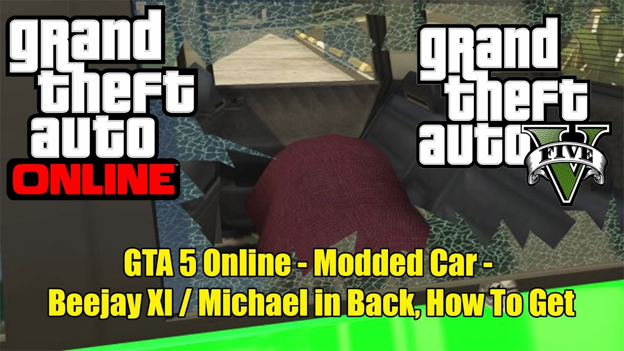 Gta 5 Online Modded Car Beejay Xl Michael In Back