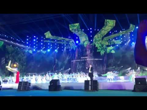 Welcome Performance at the 19th International Botanical Congress in Shenzhen