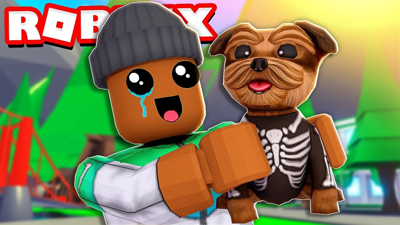 ADOPTING My FIRST PET in Roblox Adopt Me!! (New Update)