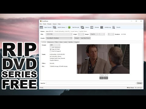 How To Rip Episodic DVD Sets For Free On Windows (Also Works On Mac And Linux)