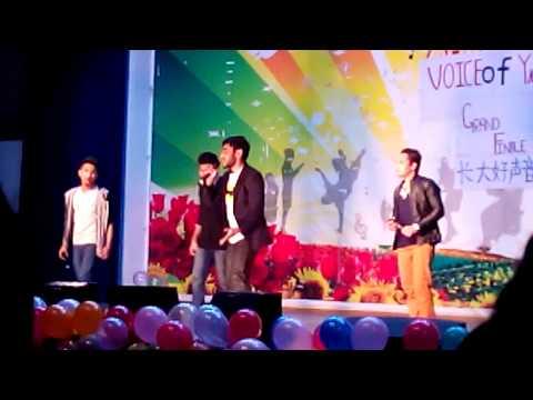 yangtze university voice of yangtze semi final performance