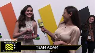 Team Adam of 'The Voice' Down to One Contestant, Reagan Strange! She Talks About Adam's Advice...