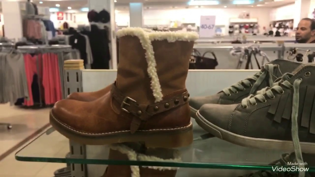 88aa1e5c1 جولة سريعة في محلات ماكس //موديلات الشتاء للملابس الخروج والأحذية النسائية