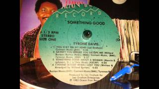 Tyrone Davis - Satisfy You Before i Satisfy Me