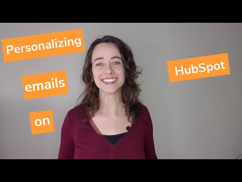 Personalizing your emails