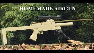 Homemade Air Gun Most Powerful Sniper
