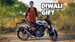 Bought KTM Duke 250 as a Diwali Gift