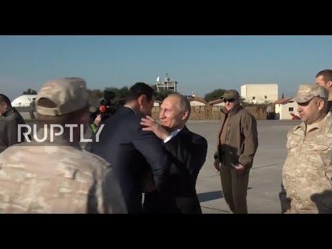 Syria: Putin meets