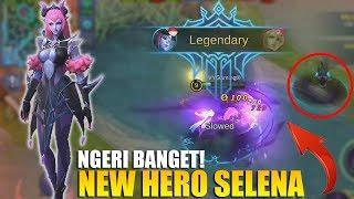 NEW HERO SELENA - NGERI BANGET SKILLNYA! BISA BERUBAH JADI 2 KARAKTER (Mobile Legends) Mp3