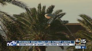 Phoenix street lights going LED