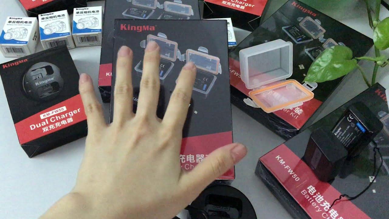 ReMonStore | Unboxing mở hộp bộ Pin NP-FW50 chính hãng KingMa cho Sony A6000 A6300 6500