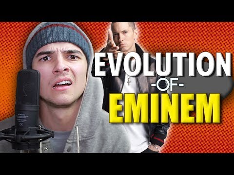 EVOLUTION OF EMINEM - @MikeyBolts