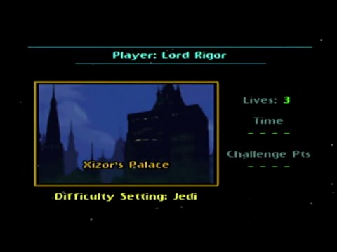 N64 Star Wars: Shadows of the Empire - Level IX [Jedi Difficulty] / Xizor's Palace  