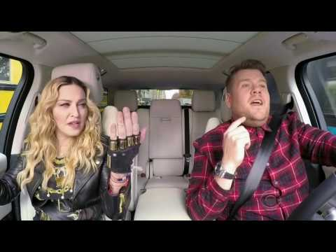 Madonna - Don't Cry For Me Argentina [Live Carpool Karaoke]