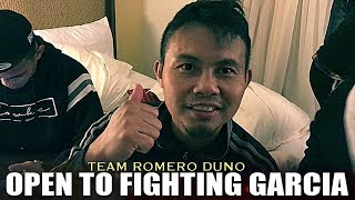 TEAM DUNO OPEN TO FIGHTING RYAN GARCIA NEXT AFTER DEFEATING RODRIGUEZ