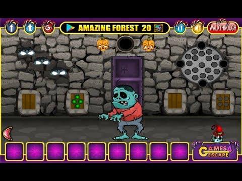 G4e Halloween Party House Escape 02 Walkthrough