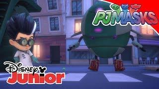 PJ Masks-Pyjamahelden - Clip: Romeo's Roboter | Disney Junior