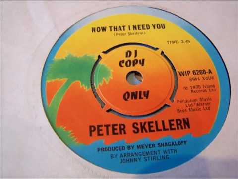 Peter Skellern 'Now That I Need You'. 1975.