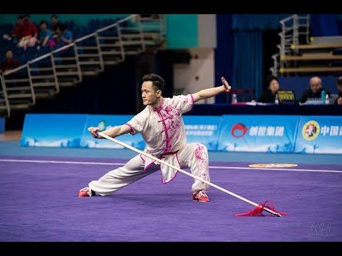 Men's Spear 男子枪术 第4名 山东 褚浩然 9.66分 Shan Dong Chu Hao Ran